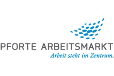 Pforte Arbeitsmarkt Logo