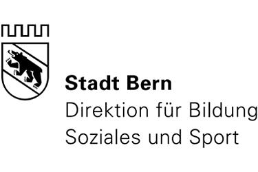 Stadt Bern Direktion für Bildung Soziales und Sport Logo